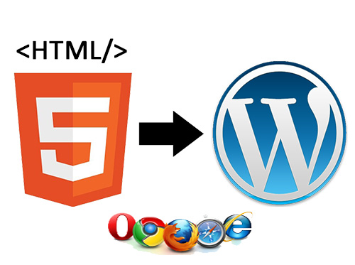 Benefit With Most Affordable HTML To WordPress Theme Conversion Services
